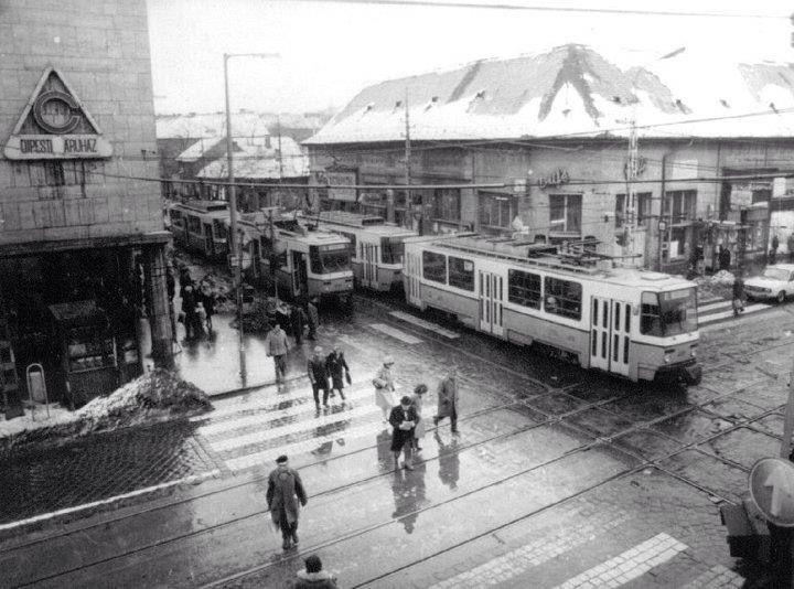Újpest centrum cirka 1975