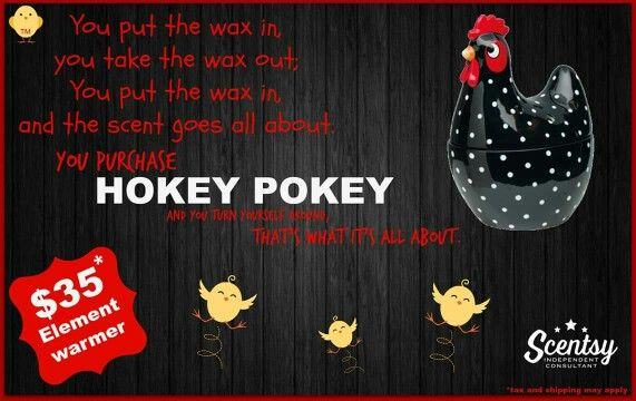 Scentsy Hokey Pokey Element Warmer Place An Order At Www