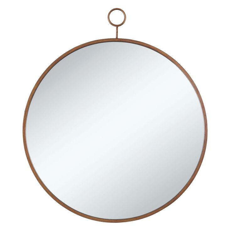 Coaster Furniture Round Wall Mirror - 30W x 36H in. - 902354