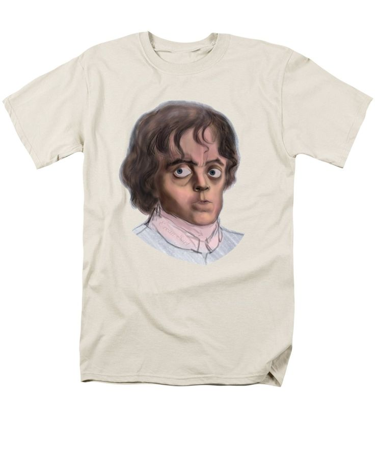 Tyrion T-Shirt featuring the painting Tyrion by Erjan Sert