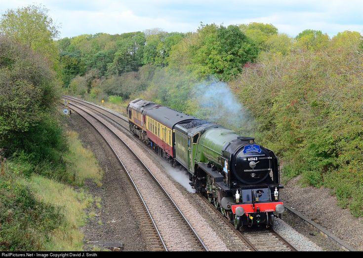60163 A1 Locomotive Trust Steam 4-6-2 at Banbury, United Kingdom by David J. Smith