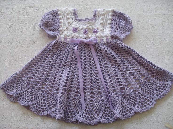 77 Best Crochet Baby Dresses Images On Pinterest Crochet Baby