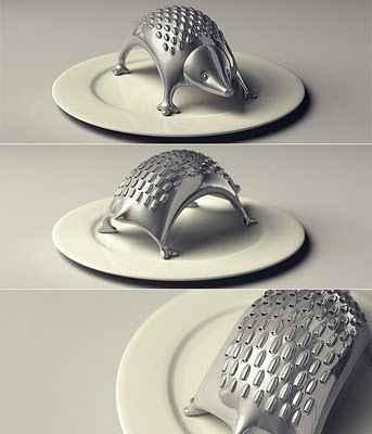 Porcupine cheese grater