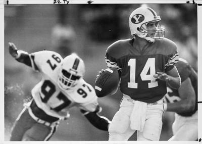 1. Ty Detmer (1987-1991) | Ranking the best quarterbacks in BYU history | Deseret News