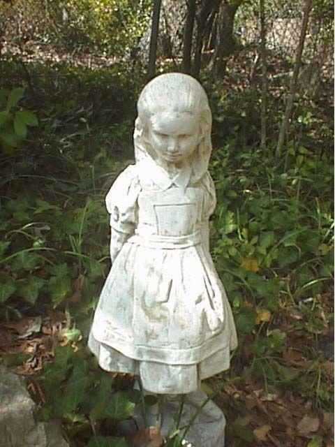 Alice wonderland garden statues make the yard a place of - Alice in wonderland garden statues ...
