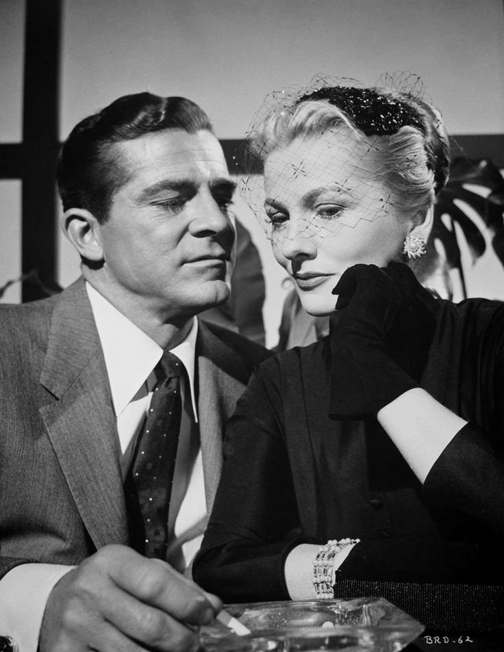 Dana Andrews and Joan Fontaine star in Fritz Lang's Beyond A Reasonable Doubt (1956)