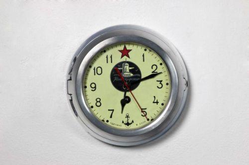 Authentic 5-CHM Soviet submarine clock by the Vostok factory