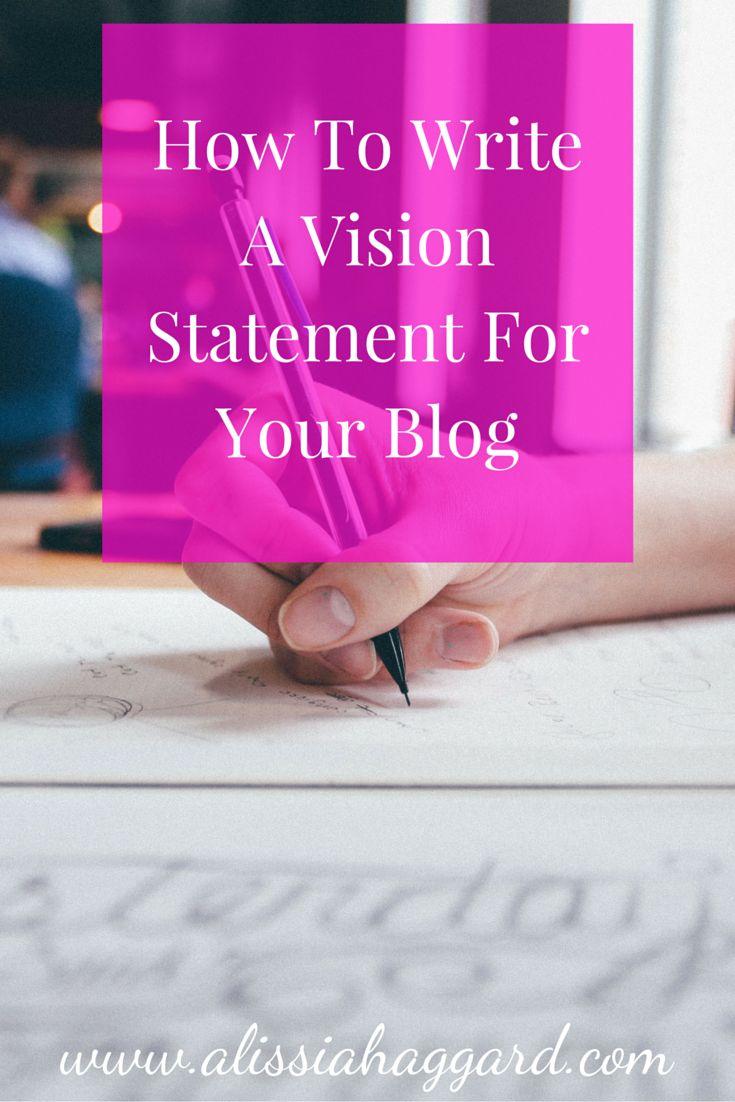 writing a company vision