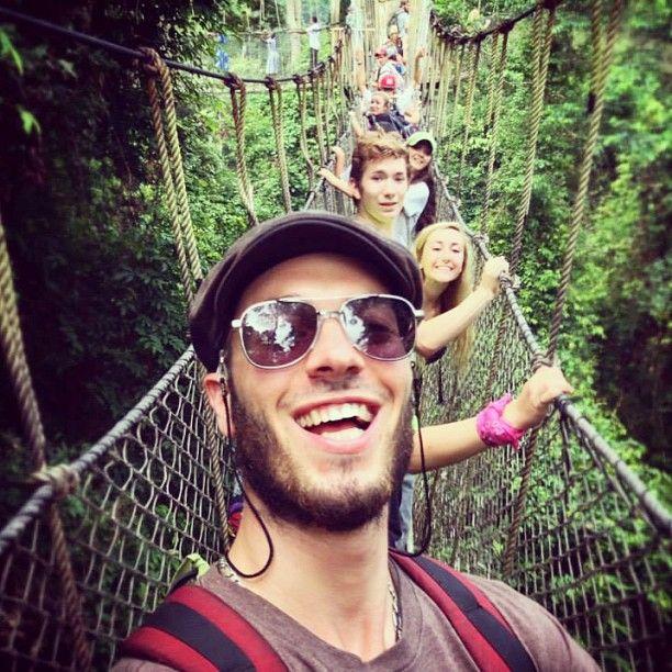 On an amazing canopy walk in #Ghana! #metowetrips #travel #volunteer #beautiful