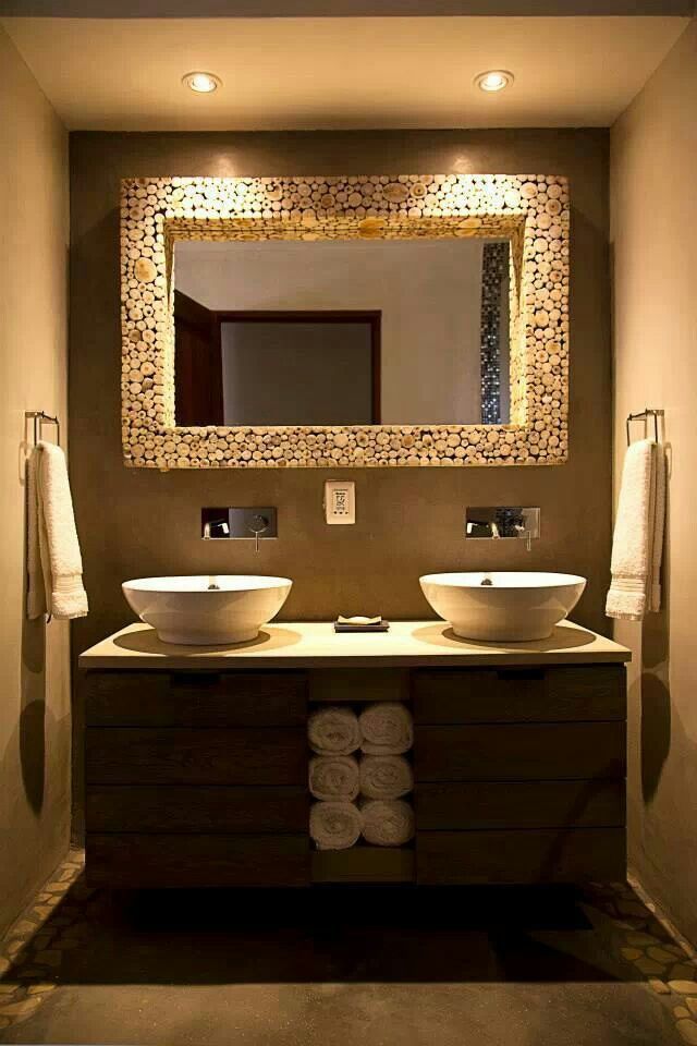 Beautiful bathroom. I like it with one sink.
