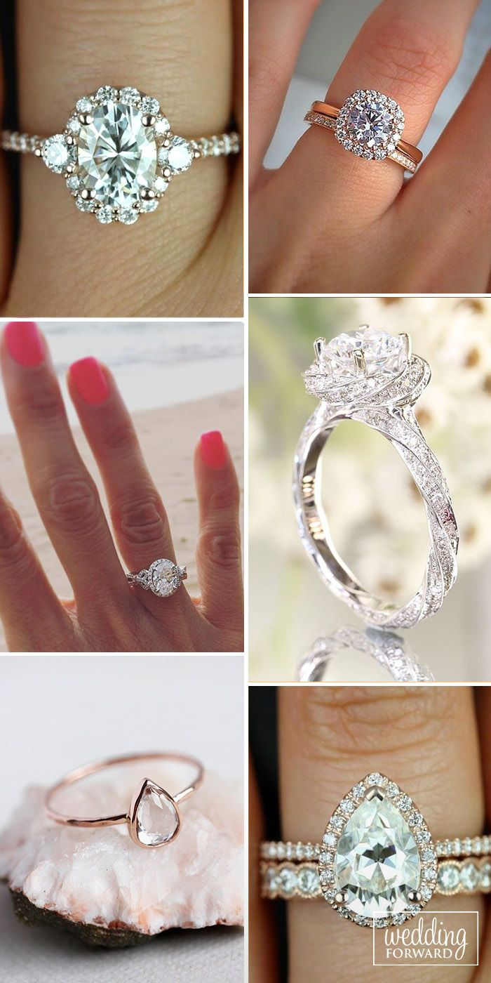 30 utterly gorgeous engagement ring ideas - How Much Do You Spend On A Wedding Ring