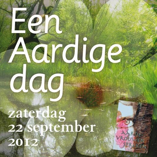een Aardige dag, 22 september 2012, met fotocollage van Linda Wormhoudt