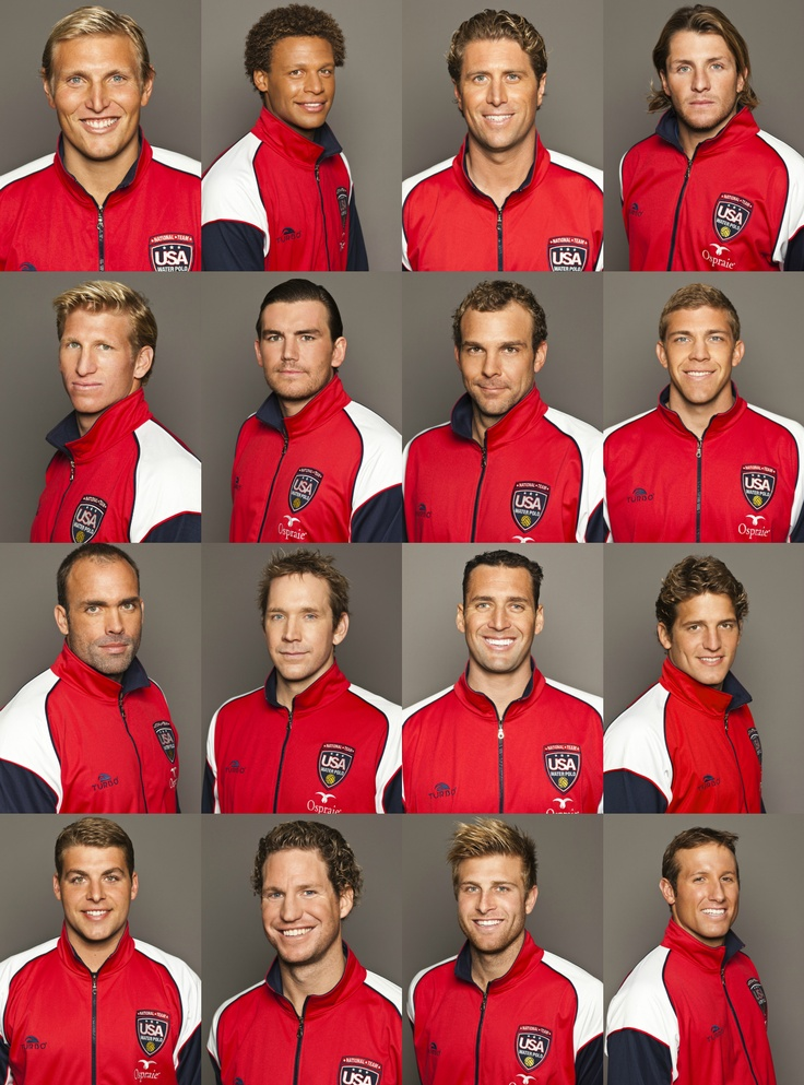 USA Men's Water Polo Team