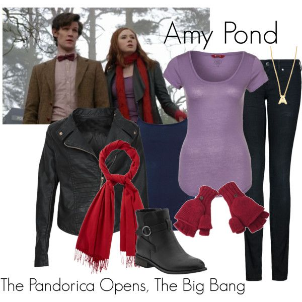 """Amy Pond - The Pandorica Opens, The Big Bang"" by ansleyclaire on Polyvore"