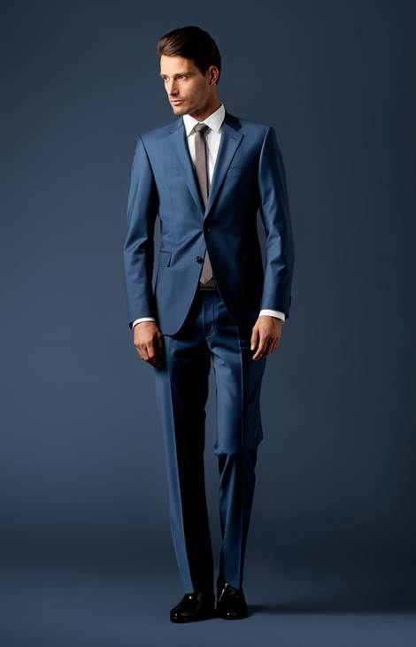 Anzug Finch-Brad in Columbia-Blau von JOOP!