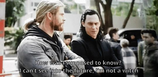 First, most witches I know would be happy to call Loki one of your own. SECOND, thank you for acknowledging that we can, indeed, see the future.