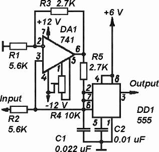 Low Pass Filterintegrator Circuit Using as well Default as well Diy Synth together with  on 741 op am pin