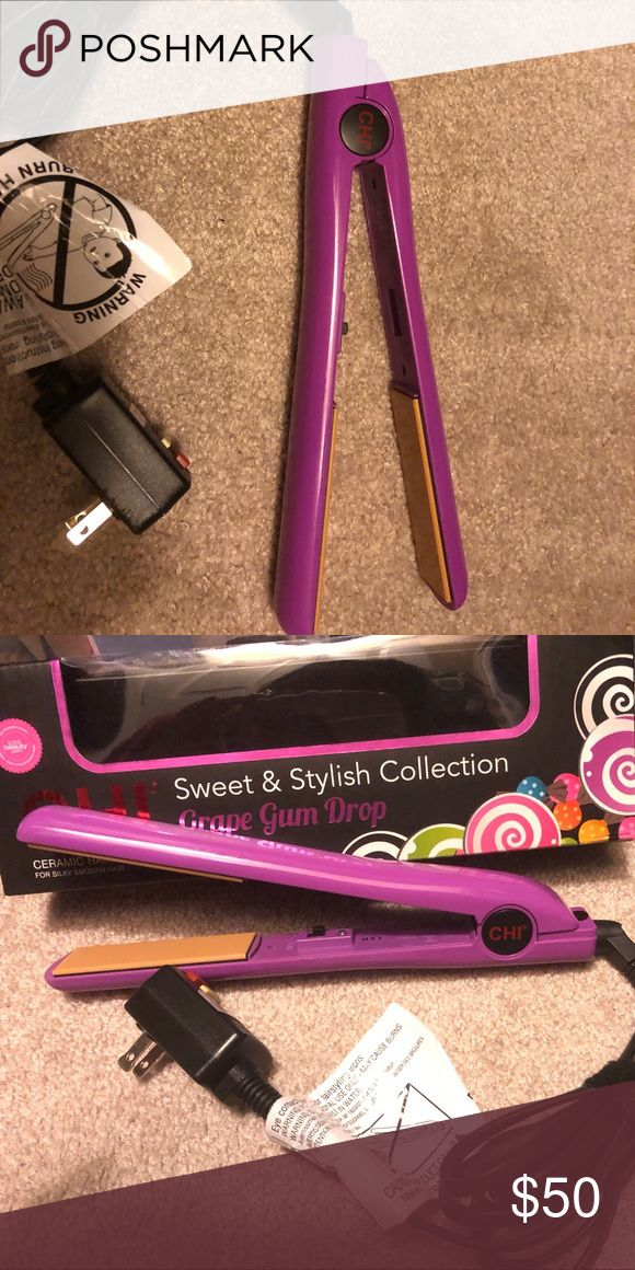 "1"" Chi hair straightener Used Chi in good shape Accessories Hair Accessories"