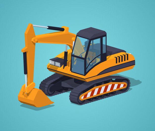 Maquinas Especiais De Escavadeira Amarela Vetor Premium Premium Vector Freepik Vector Dibujos Animados Tierra Const Excavadoras Amarillo Disenos De Unas