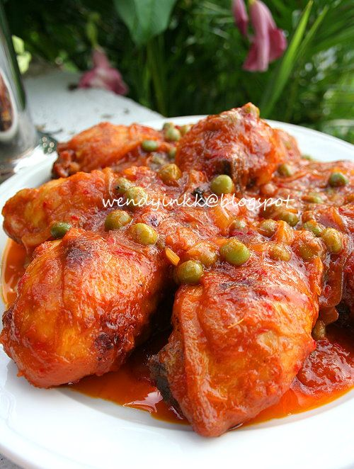 Malay Red Cooked Chicken~ Ayam Masak Merah