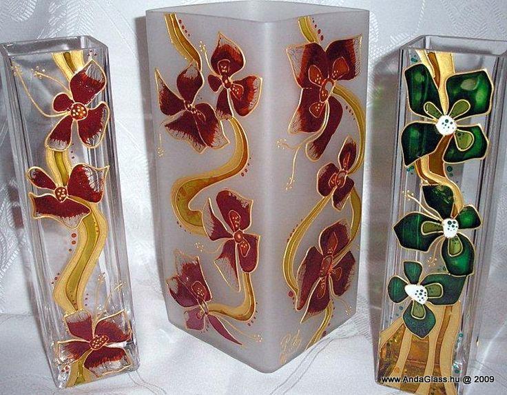 Üvegfestett dísztárgyak | AndaGlass | Hand painted stained glass