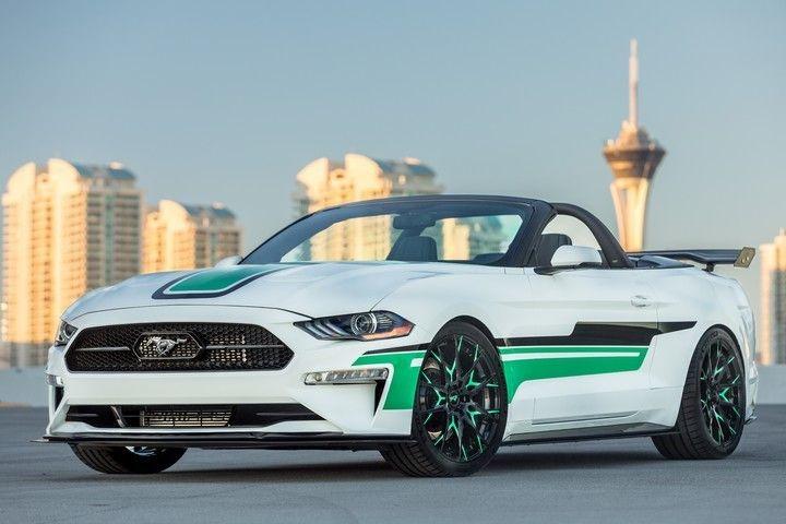 Las Diez Maravillas De La Muestra De Tuning Más Importante Del Mundo Mustang Ford Mustang Convertible Mustang Convertible