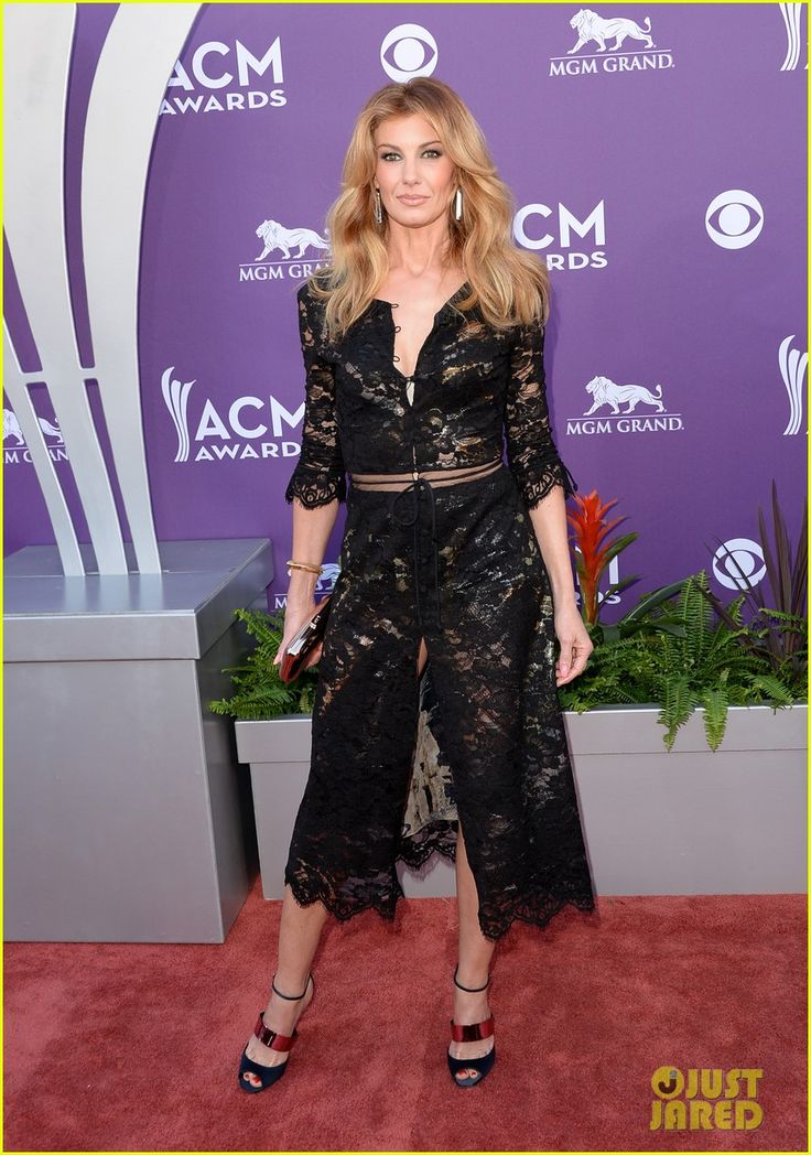 Faith Hill hits the red carpet at the 2013 Academy of Country Music Awards held at the MGM Grand Garden Arena on Sunday (April 7) in Las Vegas, Nev.