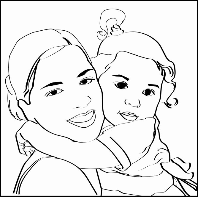 turn photos to coloring pages free – lifewiththepeppers.com | 662x667