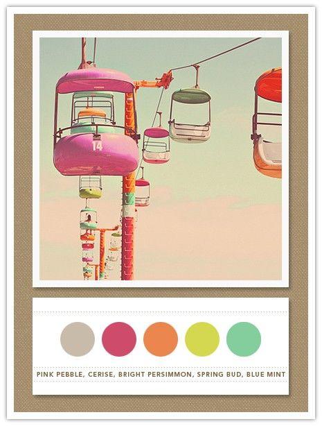 color palette for Harper's bedroom