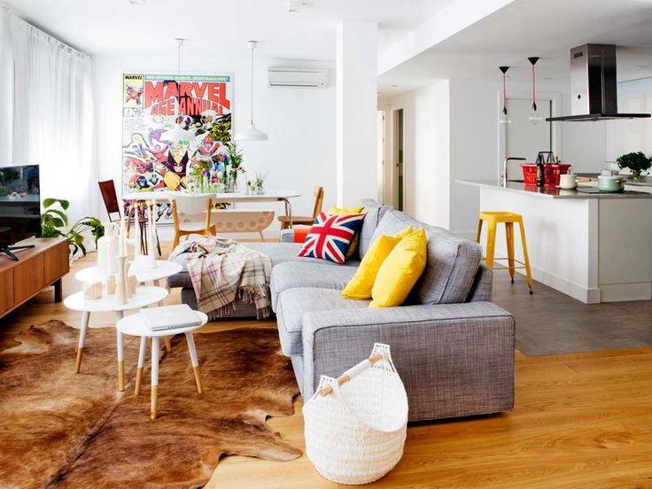 Casas más acogedoras: Elige un sofá cómodo, y si es con chaise-longue, mejor