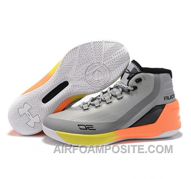 Under Armour Stephen Curry 3 Shoes Grey White FfspS