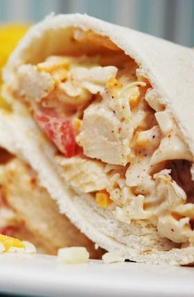 Southwest Chicken Wraps - such a great southwest twist on boring chicken salad, your family will be begging for more!