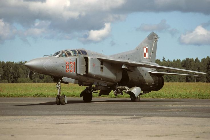 Farewell MiG-23 in Polish Air Force