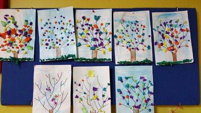 Árbolitos de primavera - Medio mayor
