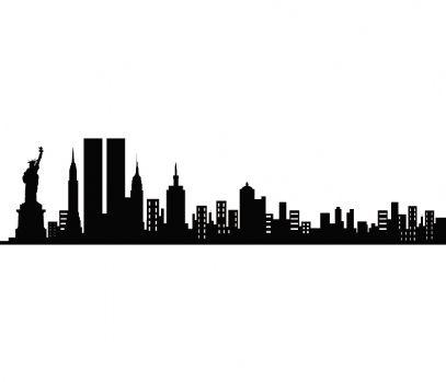 Sticker New York Before