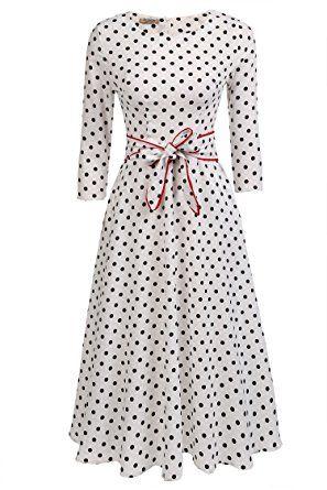 Vintage kleider wadenlang