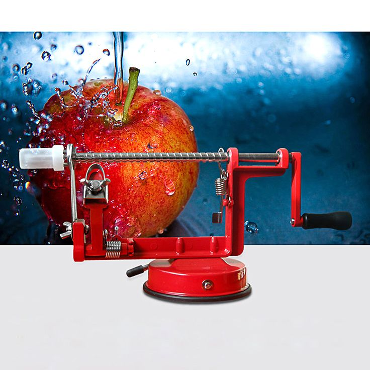Modern Apple Peeler Corer Slicer Slinky Machine Fruit Potato Onion Cutter Set