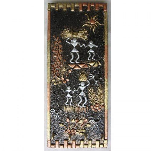 Decorative warli art keyholder