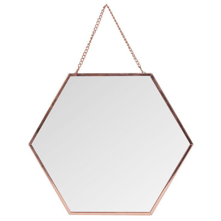 Les 25 meilleures id es de la cat gorie miroir hexagonal for Miroir hexagonal cuivre