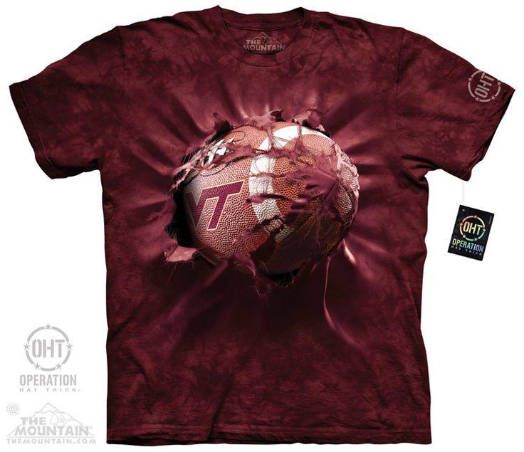 VT Football Break Through T-Shirt