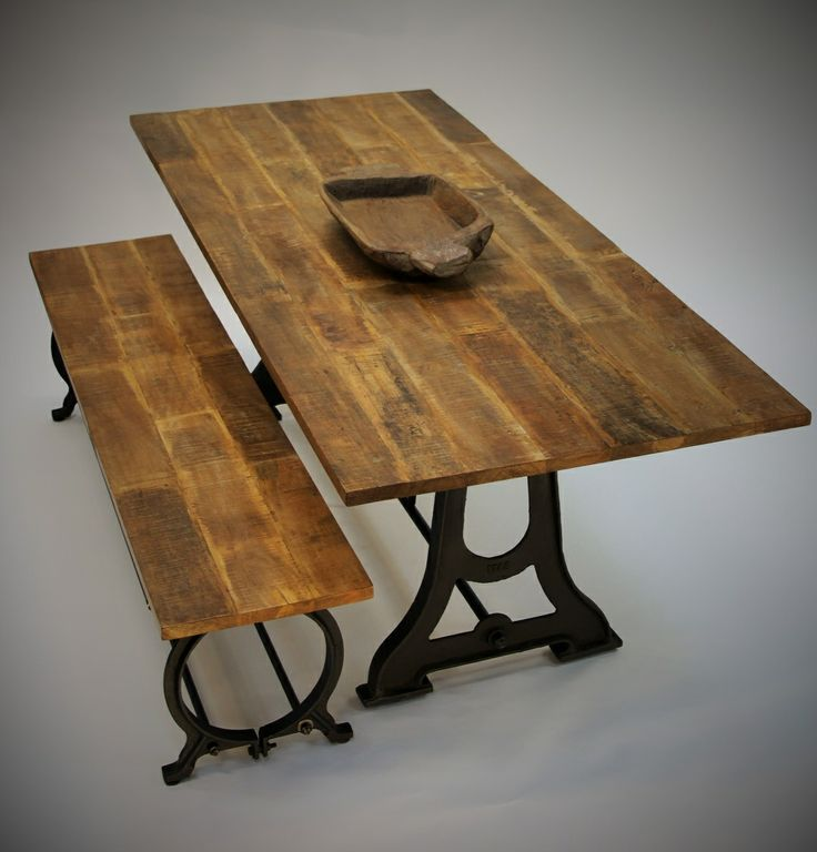 Rustic Dining Table  http://indiecompany.com