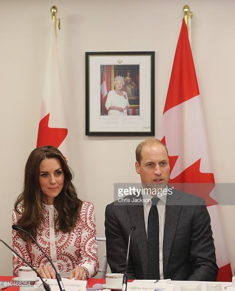 Catherine Duchess of Cambridge and Prince William Duke of Cambridge visit the Canadian Coast Guard and Vancouver First Responders Event at Kitsilano...