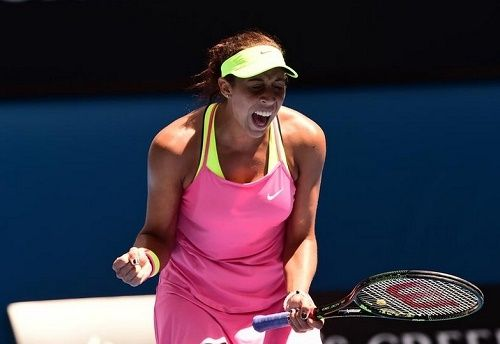 United States 19 years old Madison Keys qualifies for her 1st grand slam semi-final in Australian Open 2015. Keys defeats Venus Williams to enter in semis.