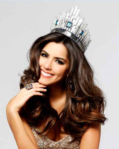 2014 Miss Universe - Paulina Vega Dieppa of Barranquilla, Colombia.