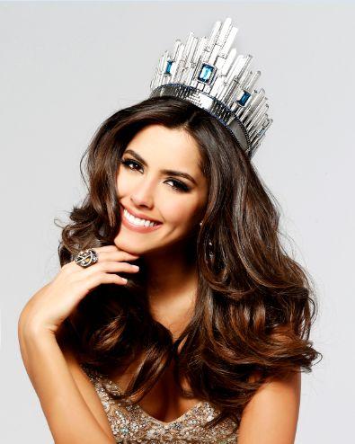 2014 Miss Universe - Paulina Vega Dieppa of Barranquilla, Colombia.