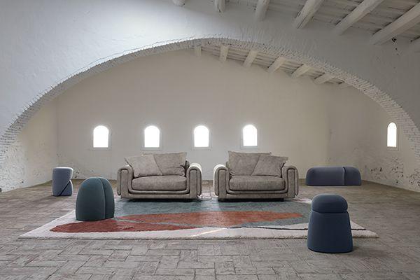 Roche Bobois Underline Loveseat Design By Raphael Navot