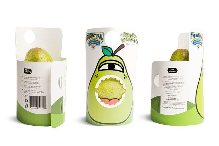 hate the violator, but creative structure ideaAngus Nichols, Snacks Monsters, Packaging Design, Packaging Food, Packaging Marketing, Packaging Identity, Fruit Packaging, Monsters Packaging, Packaging Brand