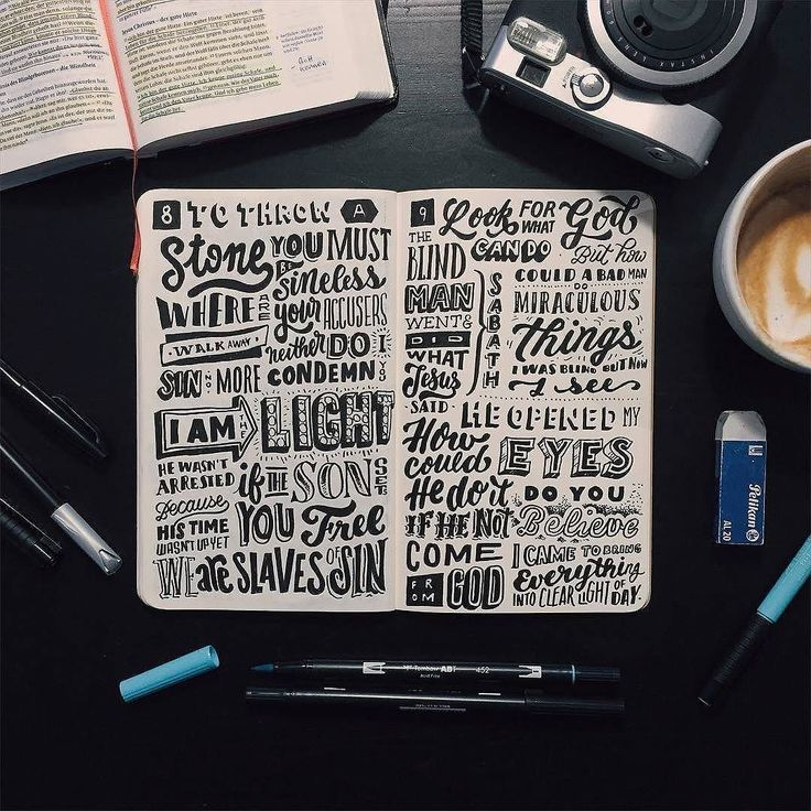 Awesome notebook layout by @stefankunz | #typegang if you would like to be featured | typegang.com | typegang.com #typegang #typography