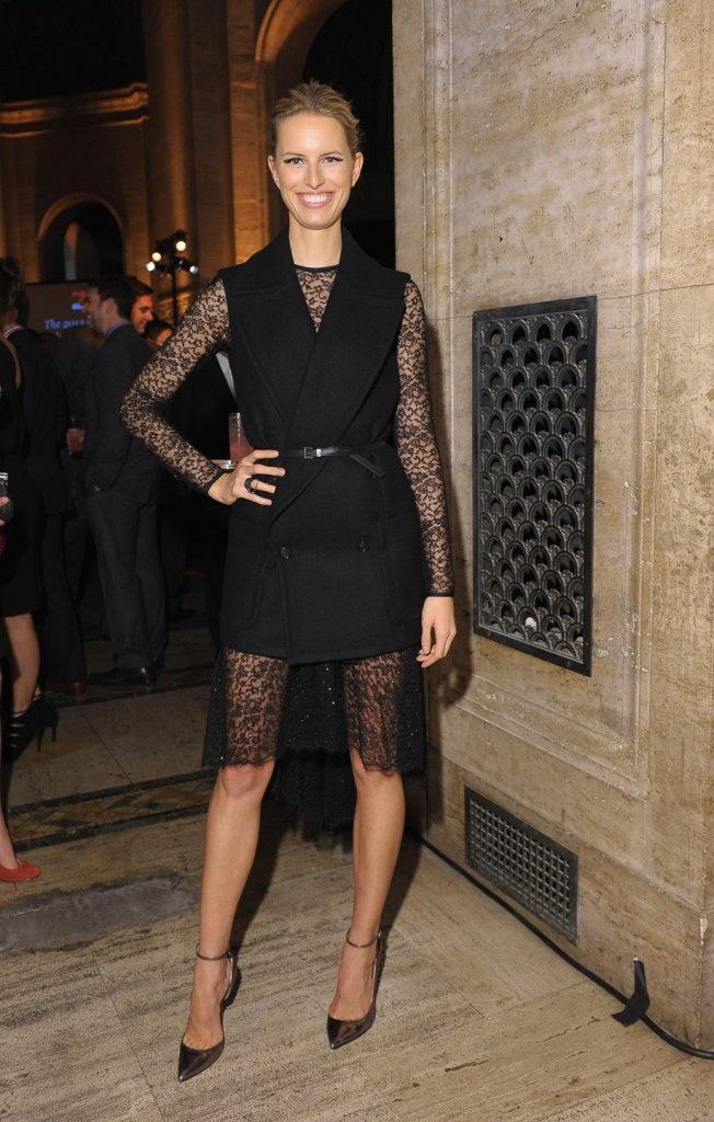Best Dressed, Lace Becomes Her: Karolina Kurkova