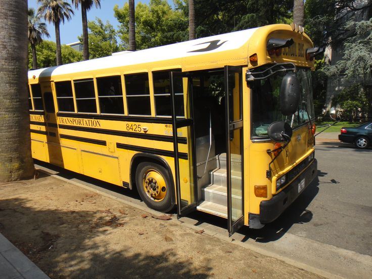 """We had a day trip to  Sacramento.  The most exciting thing for me was that """"they"""" really do uses yellow school busses. California 2011"""